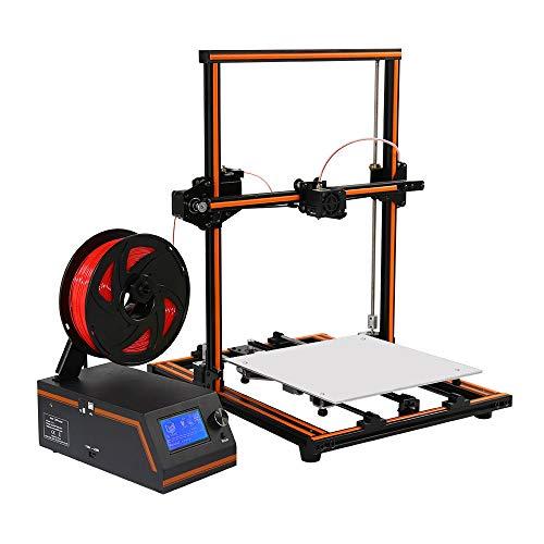 EXCLVEA Imprimante 3D Durable Et Stable Aluminium Profil Cadre Petit modèle stéréo imprimante avec l'impression de Fonction de Reprise de Bureau de qualité Industrielle Accueil imprimante 3D