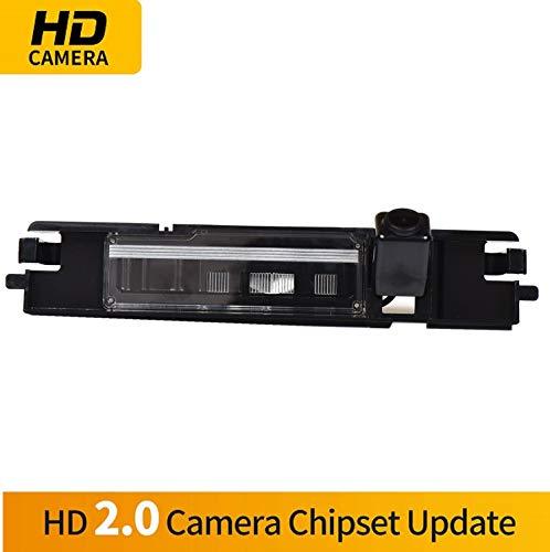 HD Caméra de Recul dans la plaque d'immatriculation Caméra vue arrière de voiture Imperméable Vision Nocturne pour Toyota Asian Land Cruiser LC150 4Runner Fortuner SUBARU SW4 IMPREZA WRX sedan