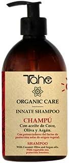 Tahe Champú Innate Organic Care Solar Cabello más Brillante y Ligero con Aceite de Coco Oliva y Argán sin Siliconas ni Su...