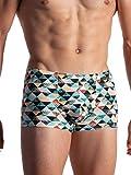 Olaf Benz Beach BLU1956 - Pantaloni da spiaggia ultraleggeri, collezione limitata Triangles S