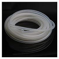 エアホース 4メートル透明シリコーンチューブ/ホース10 12 16 18 20 25 31ミリメートル柔軟なゴムホースビールパイプミルクホース (Length : 1 Meter, Specification : 16 x 21mm)