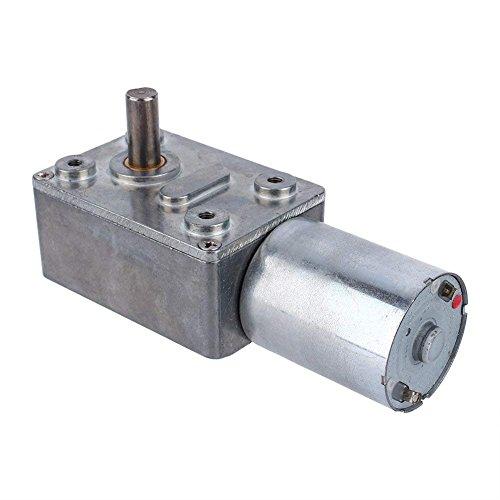 Motoriduttore a vite senza fine reversibile con motore a coppia elevata DC 12V CW/CCW(20RPM)