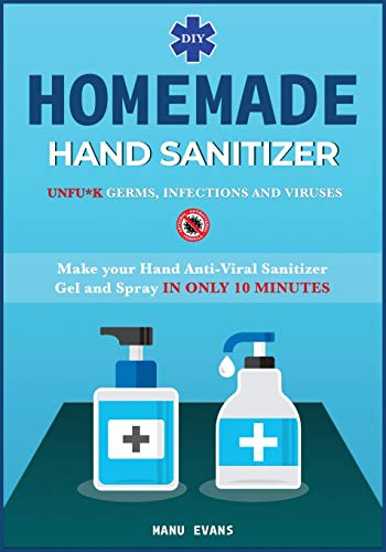 HOMEMADE HAND SANITIZER: Make your Hand Anti-viral Sanitizer gel and Spray IN...