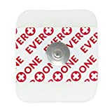 EverOne Multi-Purpose Ecg Monitoring Electrode, 100Count (2 Bags Of 50)...