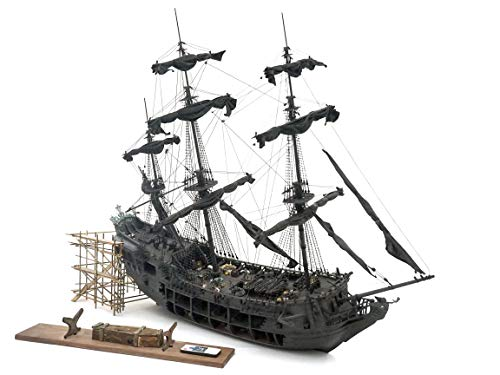 Top Level of The Black Pearl Model Wood Ship kit DIY Product 1-3 Poles