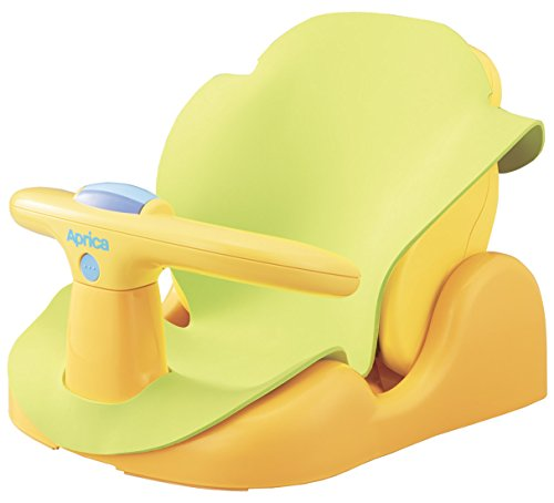 Aprica (アップリカ) バスチェア はじめてのお風呂から使えるバスチェア YE 91593 【パーツ取り外し可&やわ...