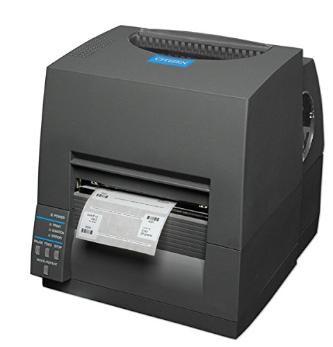 Citizen CL-S631, 300dpi, Ethernet cutter, ZPL, Datamax, black, 1000819EC (cutter, ZPL, Datamax, black incl.: cutter, colour: black)