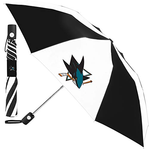 Great Features Of WinCraft San Jose Sharks Automatic 42 inch Umbrella