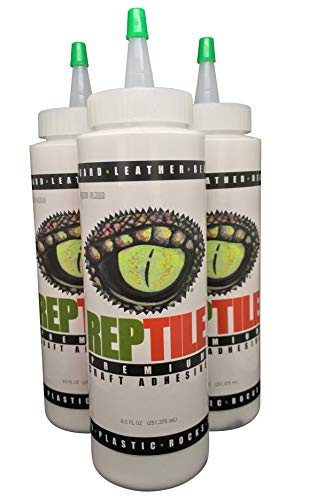REPTILE Premium Craft Adhesive 8.5 oz Dries Clear-Order and Ship Above Freezing |