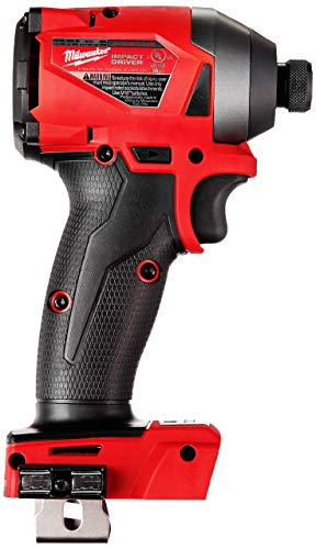 Milwaukee 2853-20 M18 FUEL 18-Volt Lithium-Ion Brushless Cordless 1/4 in. Hex Impact Driver (Tool-Only) (Renewed)