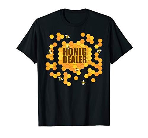 Imker T-Shirt Bienen Honig Geschenk Imkerei Fun Shirt