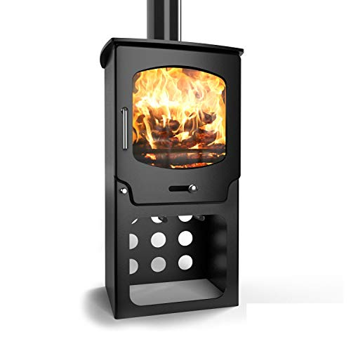 Saltfire ST-X5 TALL Multifuel Woodburning Stove DEFRA Approved EcoDesign