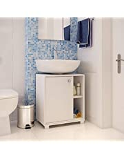 خزانة الحمام بي آر في موفيز، أبيض، BBN 01-06