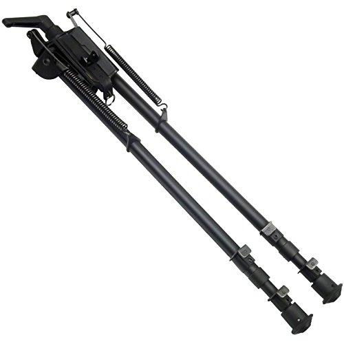 FeelRight 13-27 inch Long Range Bipod with Pivot Podlock Heavy Duty High Shockproof Shooting Swivel Style Bi-pod