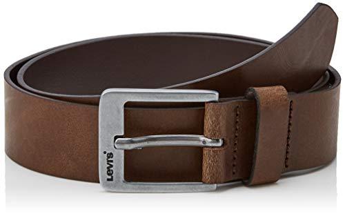 Levi's Cody Belt Cintura, Marrone (Dark Brown 29), 7 (Taglia Produttore: 110) Uomo