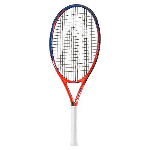 HEAD Kinder Radical 25 Tennisschläger, orange/blau, Einheitsgröße