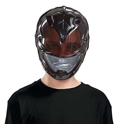 Disguise Black Power Ranger Movie Mask, One Size