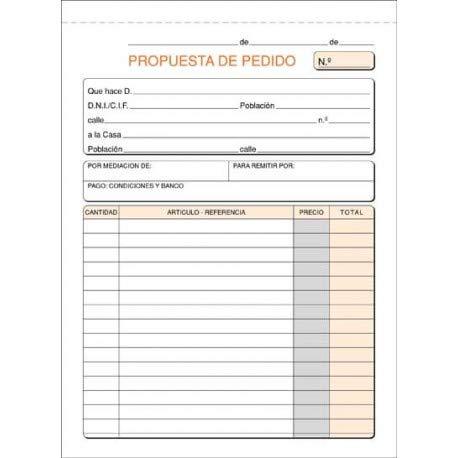 (Caja 10 unid) TALONARIO PEDIDOS 15x21 SIMPLE T-27 ✅