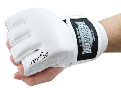 Bad Company MMA Handschuhe Ultimate Fighter I Trainingshandschuhe ohne Finger I Gr. L
