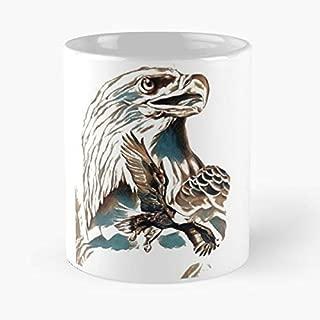 Eagle Patriot Gadsden Second Amendment - Best Gift Coffee Mugs 11 Oz Father Day
