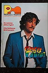 Paroles & Musique 1984 04 n° 39 FRANCIS CABREL GRAEME ALLWRIGHT CHRISTIANE STEFANSKI