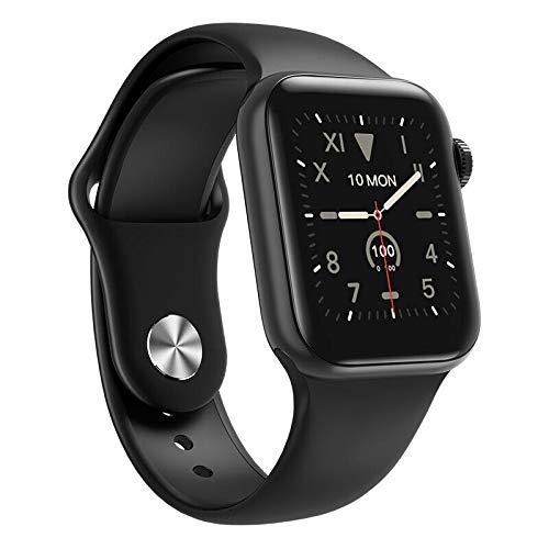 W58 Pro IWO 13 MAX Smart Watch serie 5 nero 38/40 mm 24 ore monitoraggio della temperatura corporea cardiaca pressione sanguigna Smartwatch