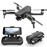 ZHAOJ GPS Drone with 4K Camera for Adults, Brushless Motor 5G WiFi Transmission FPV Live Video Drone, RC Quadcopter with Auto Return Home, Follow Me, Waypoints, Circle Fly, Carrying Case