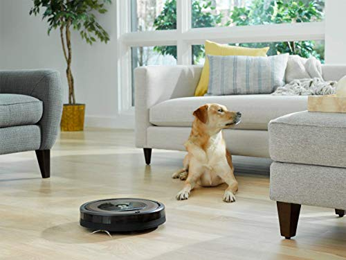 iRobot Roomba 890 Robot Vacuum- Wi-Fi Connected, Works with Alexa, Ideal for Pet Hair, Carpets, Hard Floors (Renewed)