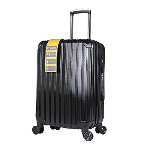 LSYOA Starr koffer bagage, met 4 draaibare wielen, super lichte reiskoffer, uittrekbaar, robuuste rolkoffer