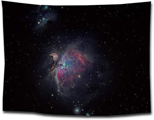 Yhjdcc Tapiz para colgar en la pared, 3D, diseño de cielo estrellado, manta sentada, tapiz para colgar en el sofá, toalla para el hogar, decoración de cuadros, mantel de 150 cm x 200 cm