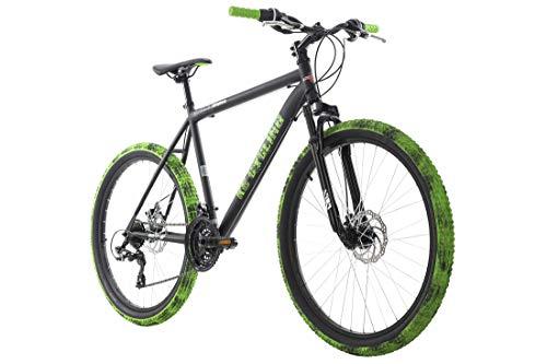 """KS Cycling Mountainbike Hardtail Crusher 26"""" schwarz-grün RH 56 cm"""