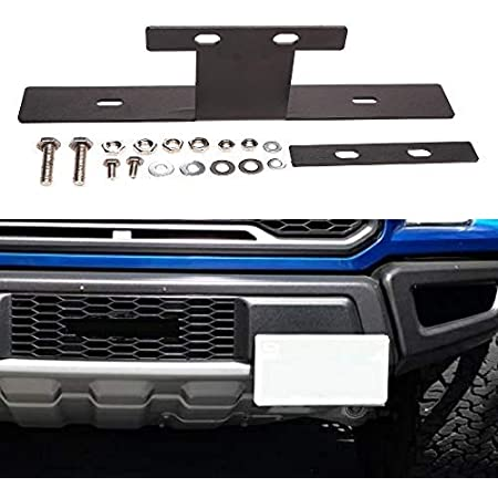 STO N SHO Front License Plate Bracket for 2017-2019 Ford F-150 Roush