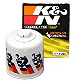 K&N Premium Oil Filter: Protects your Engine: Compatible with Select HYUNDAI/KIA/SUBARU/HONDA Vehicle Models (See Product Description for Full List of Compatible Vehicles), HP-1004