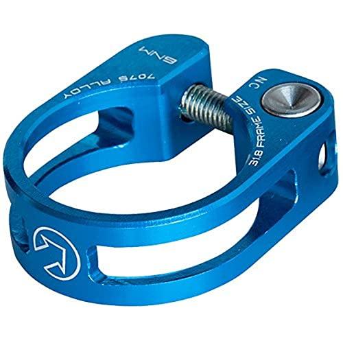 Pro Sillines Abrazadera Azul 34,9Azul, Aluminio, Lightweight Diseño