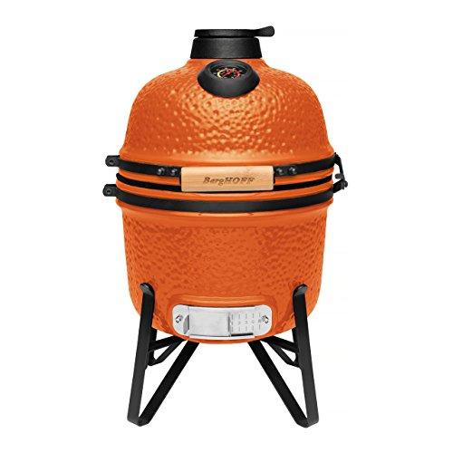 BergHOFF Barbecue e forno in ceramica, arancio brillante, piccolo.