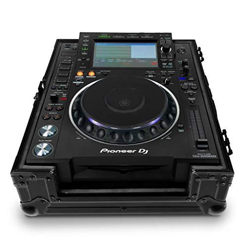 Audibax Flight Case PRO-12   Maleta para Controladora DJ   Para Mezcladores y CDs de Gran Formato   Compacta, Segura y Cómoda   Protección Reforzada   Uso Profesional   Acabado Interno en Foam