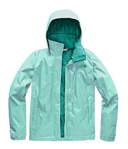 The North Face Women's Resolve 2 Jacket - Mint Blue & Kokomo Green - XXL