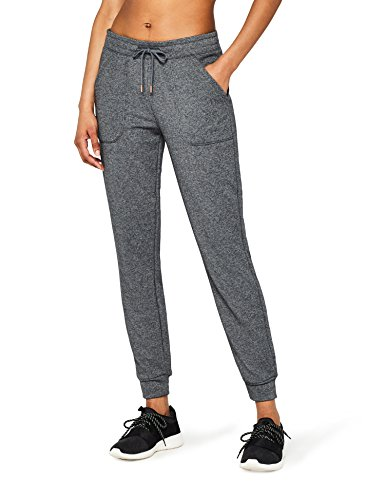 Amazon-Marke: AURIQUE Damen Jogginghose Jogger, Grau (Dark Grey), 38, Label:M