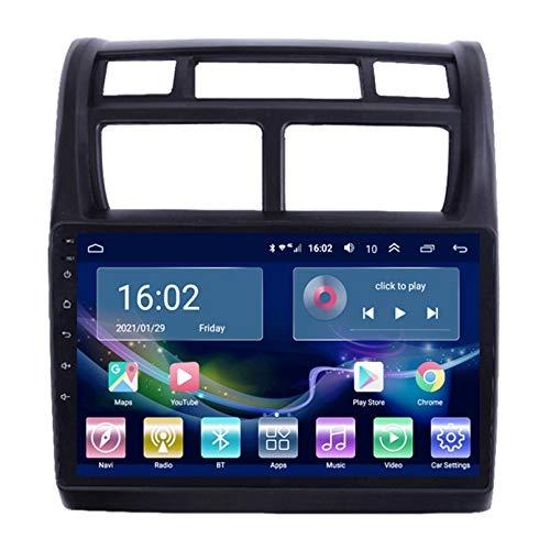 Radio De Automóvil Radio Navegador Por Satélite FM AM Pantalla Táctil GPS Navigator Control De Control De Volantes Bluetooth WiFi Player GPS Support USB SD Adecuado Para Sporta(Color:WIFI 1G+16G)