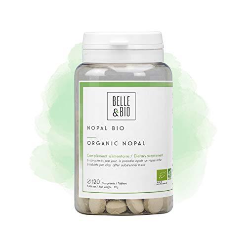 Belle&Bio Nopal Bio - 400 mg/comprimé- Brûleur Capteur - Certifié Bio par Ecocert - Fabriqué en France
