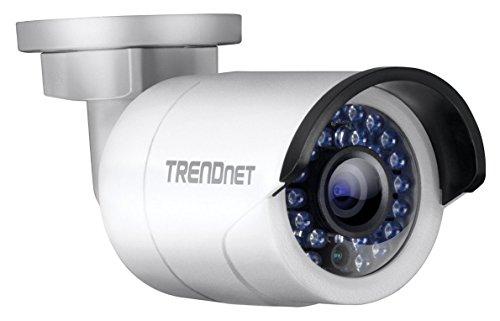 TRENDnet TV-IP320P Indoor/Outdoor 1.3 Megapixel HD PoE IR Stift Netzwerkkamera, Digital WDR, 720p, IP66 Gehäuse, 30 Meter Nachtsicht, ONVIF, IPv6