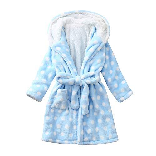 clacce Baby Bademantel Kleinkind Morgenmantel Kinder Hausmantel Handtuch Robe Säugling Nacht Kleidung Junge Mädchen Unisex