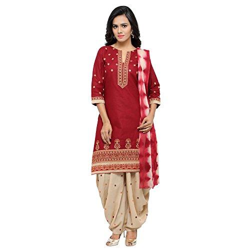 Soru Fashion Women's Cotton Dress Material (2007_Free Size