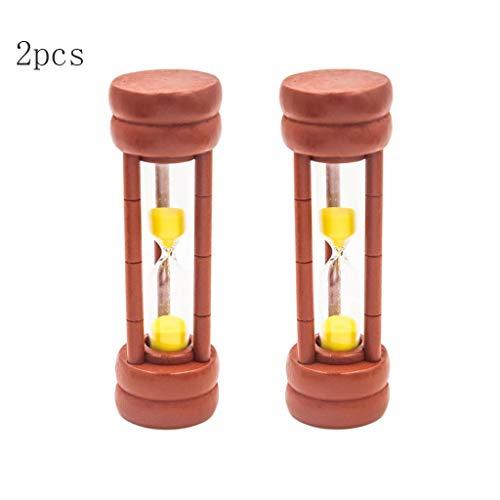 Sharplace 1 Minute Minuterie Sable Verre Bois Horloge Sablier Bureau Cuisine Créative Horloge Enfants
