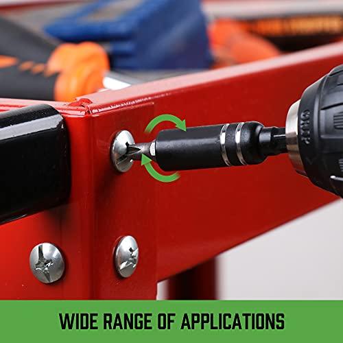 "SWANLAKE 1/4""Magnetic Extension Socket Drill Bit Holder,Screwdriver Extension ,Quick-change Hex Shank Set ,10pcs"