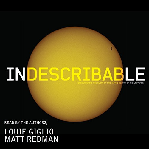 Indescribable audiobook cover art