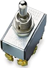Gardner Bender GSW-16 Heavy-Duty Electrical Toggle Switch, DPDT, ON-(OFF)-ON, 20 A/125V AC, Screw Terminal