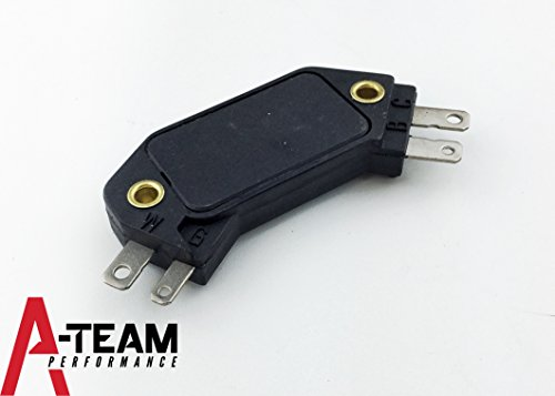 A-Team Performance 4 pin IGNITION MODULE Replacement for HEI Distributors Compatible With CHEVY GM OLDS PONTIAC D1906
