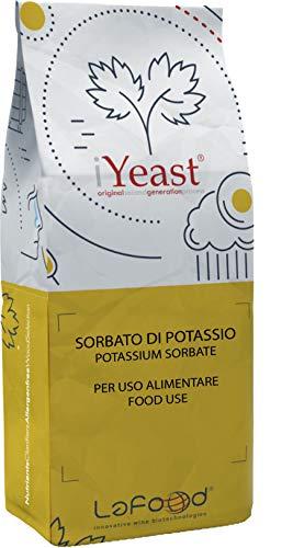Sorbato De ion potasio–1kg–para uso alimenticio