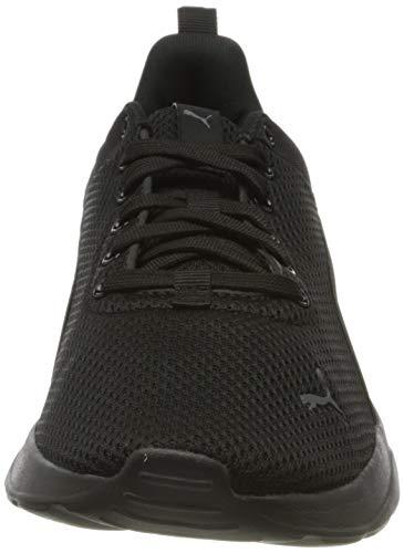 PUMA Anzarun Lite, Zapatillas Bajas Unisex-Adulto, Negro (Black/Black), 45 EU